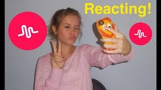 Reacting To My Privates On Musical ly!  (+ making musical.lys)