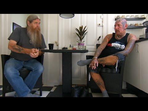 Alkoholiker indkvarteres i telt - Rebellen fra Langeland