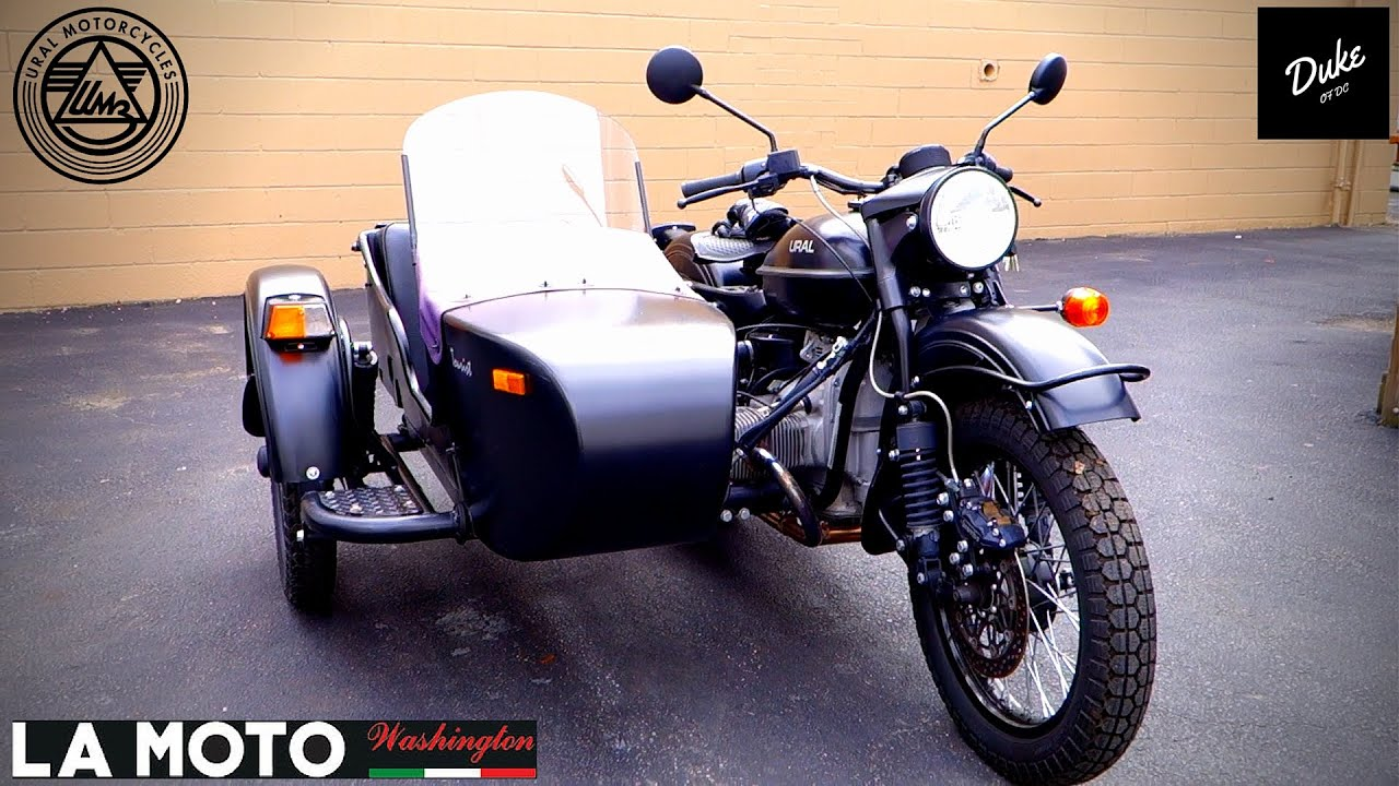 motorcycle sidecar ural first ride review youtube. Black Bedroom Furniture Sets. Home Design Ideas