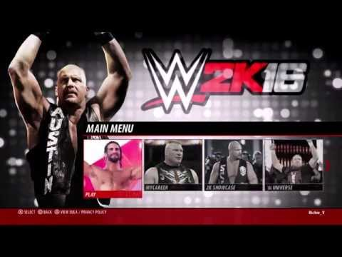WWE 2K16 - TAG TEAM TOURNAMENT (FULL LIVE STREAM #1)