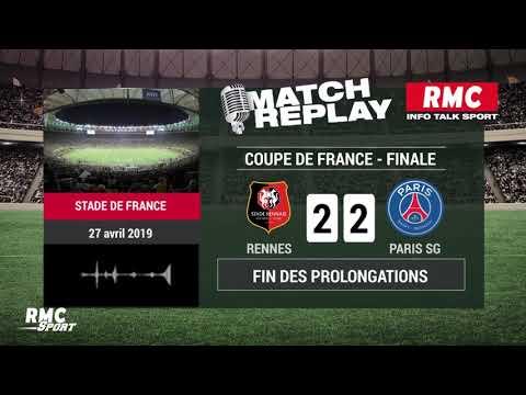 Rennes - PSG (2-2 ; 6tab5) : Le goal replay avec les commentaires de RMC