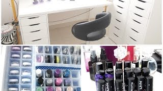 MAKEUP COLLECTION & STORAGE ! 2014  ❤ -- DYNA