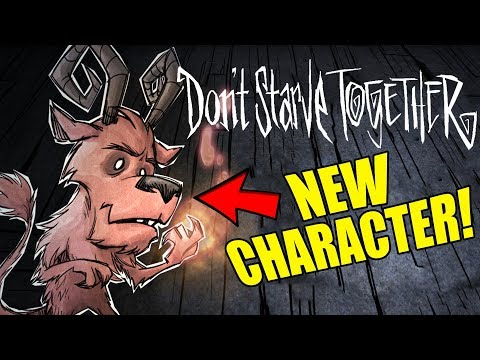 New Character Announced! Wortox! - Don't Starve Together Gameplay