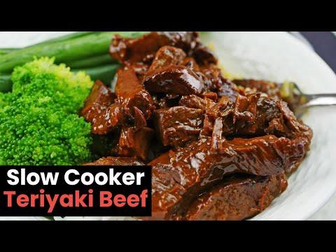 Super Tender Slow Cooker Teriyaki Beef