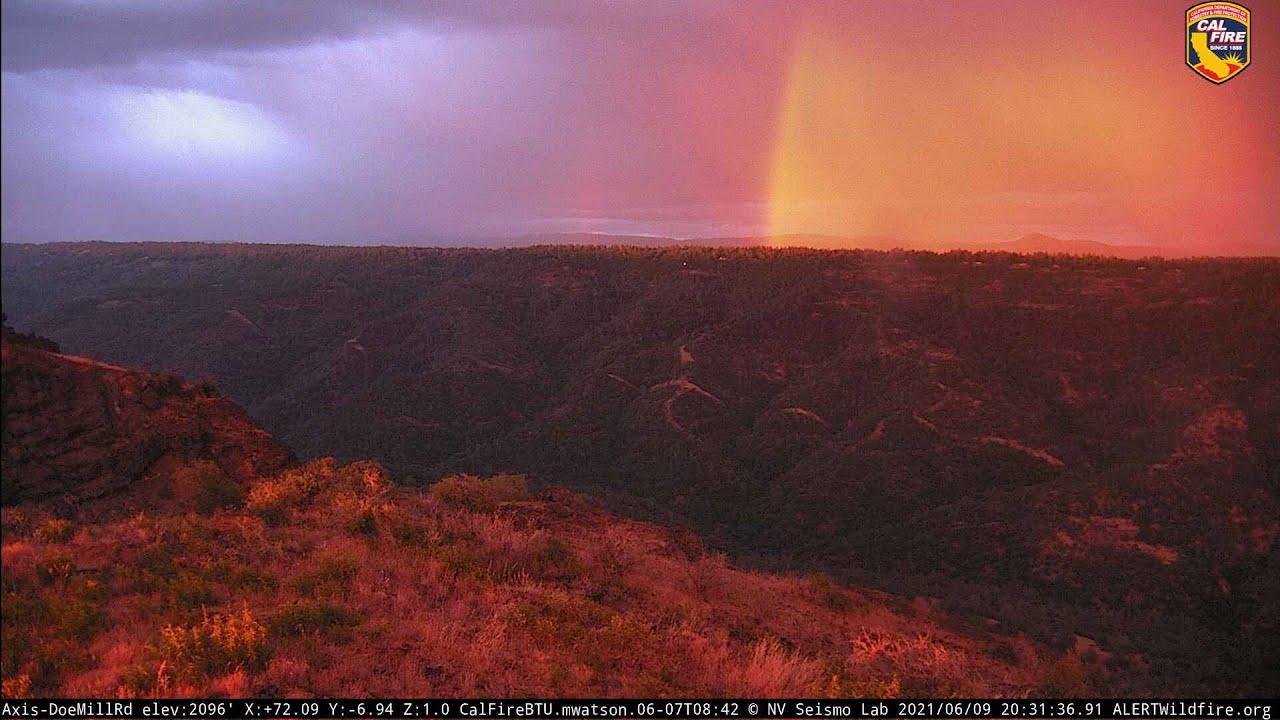 Vivid Sunset Thundershowers 6/9/2021 - 6/14/2021
