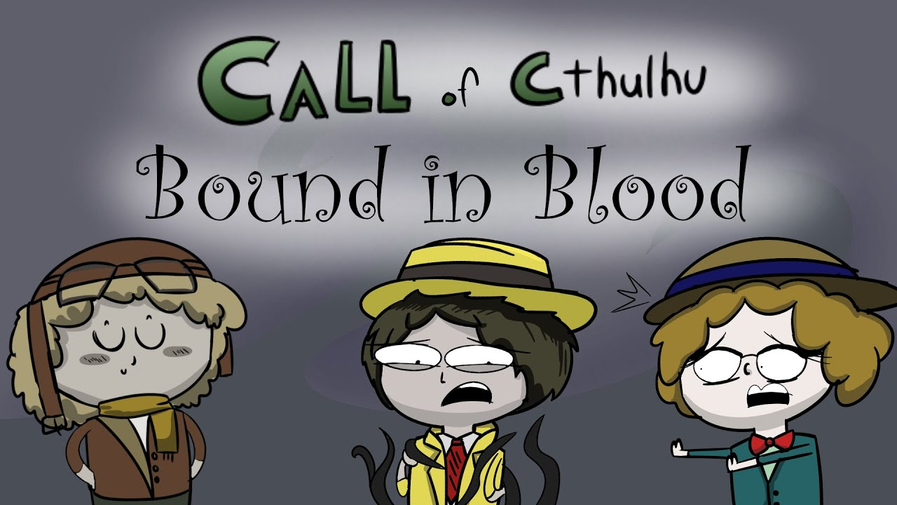 RPG Replay Halloween Episode: Call of Cthulhu || Bound In Blood