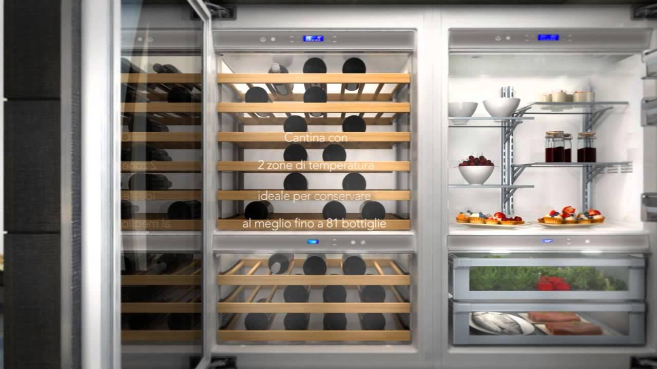kitchen aid nuovi frigoriferi vertigo top gamma youtube. Black Bedroom Furniture Sets. Home Design Ideas