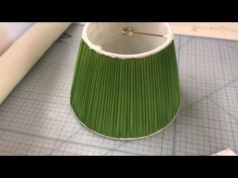 How We Make Our Handsewn Custom Lampshades - Oriental Lamp Shade Company