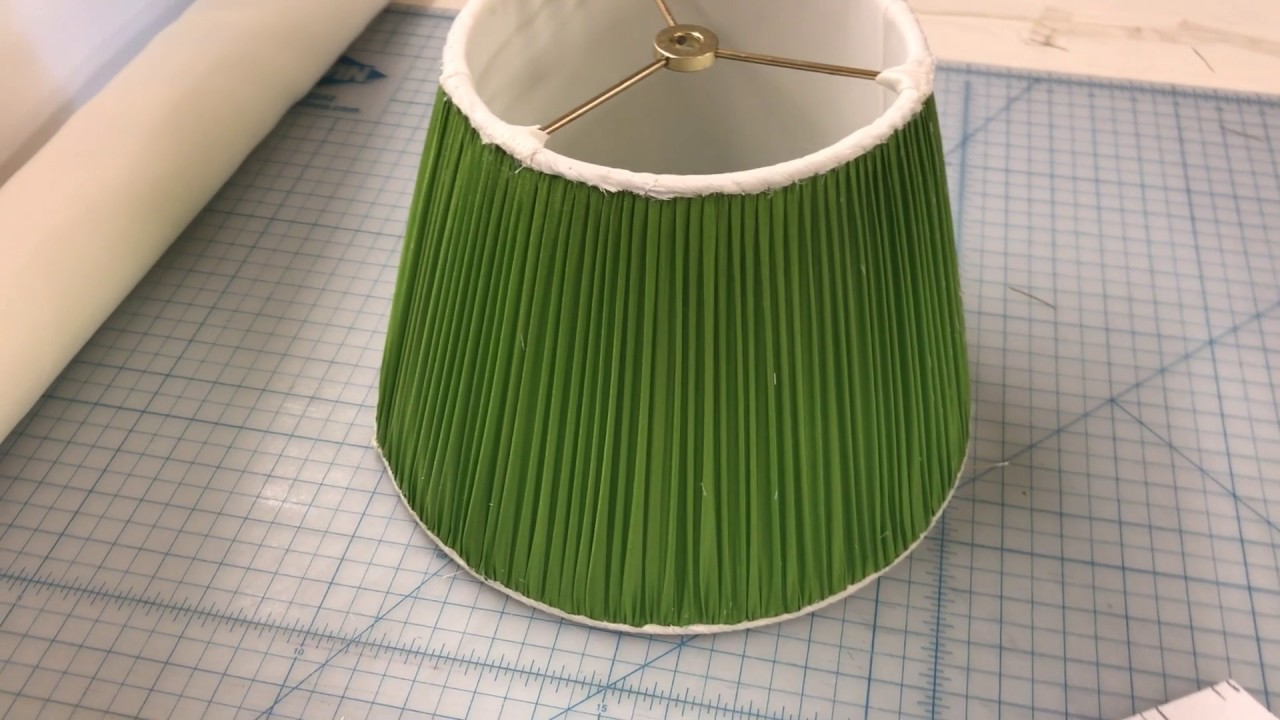 how to make a new lamp shade