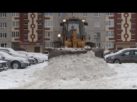 Лангепас завалило снегом. Как справляются дорожники. Сюжет телекомпании Лангепас+