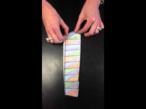 DNA origami model - YouTube
