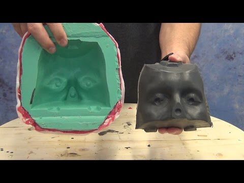 Pouring A Resin Core Mold For Silicone or Foam Latex Prosthetics