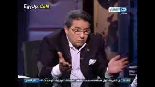 بكاء الطفل بطل فيلم حلاوة روح مع محمود سعد بسبب شدة الهجوم علية من الاعلام والحكومة والجمهور