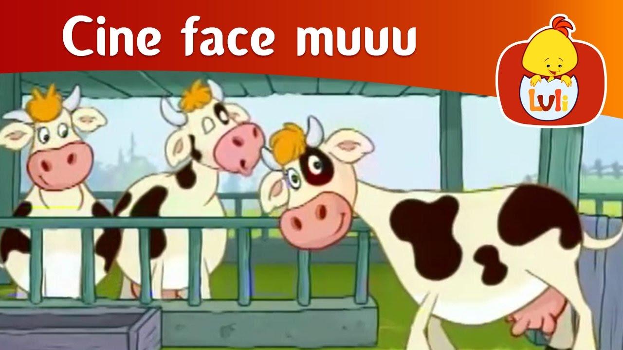 Download Cine face muuu? - Vacă, pentru copii - Luli TV