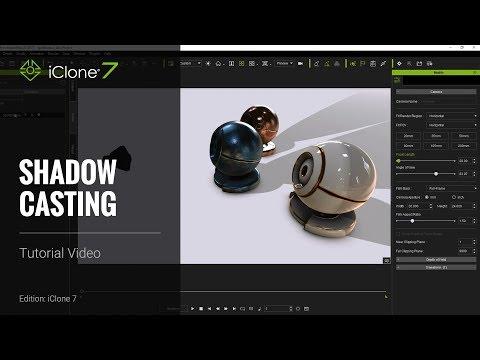 iClone 7 Tutorial - Shadow Casting