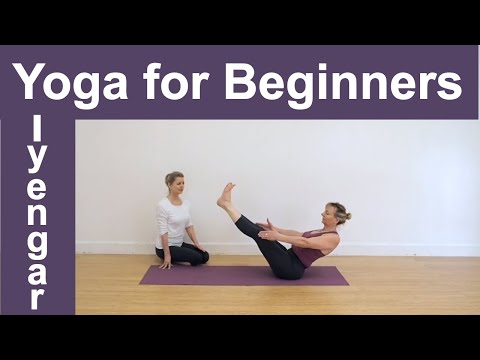 Yoga Class -   Iyengar Yoga For Beginners. A 20 Minute Yoga Sequence For Beginners.