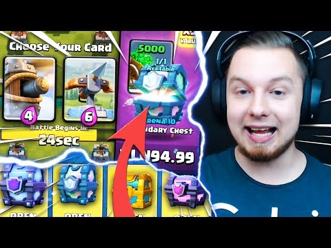 OGROMNA OFERTA! 3 LEGENDY W ODCINKU + FLYING MACHINE! | Clash Royale