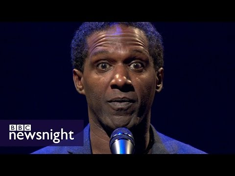 A powerful poem for National Poetry day - BBC Newsnight