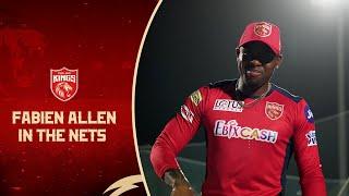 Fabian Allen in the nets | Punjab Kings | IPL 2021