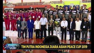 Tim Putra Indonesia Juara Asian Peace Cup 2019