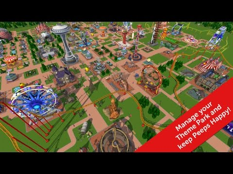 ROLLERCOASTER TYCOON TOUCH iOS Gameplay Trailer