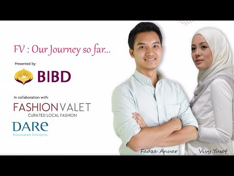 Fashion Valet: Our Journey So Far.. (Pt 1 of 3) - Vivy Yusof & Fadza Anuar