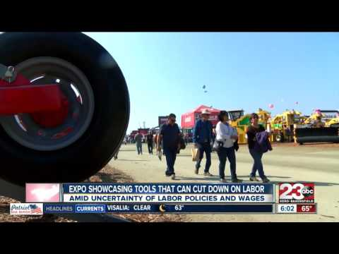 Tulare Ag expo showcasing tools to cut down on labor