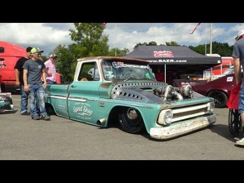 Classic Car Studio's Twin Turbo Chevy C10 - LS Fest - YouTube