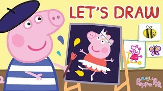 Peppa Pig  - Surprise Colouring - Dwaring for Kids | Learn With Peppa Pig