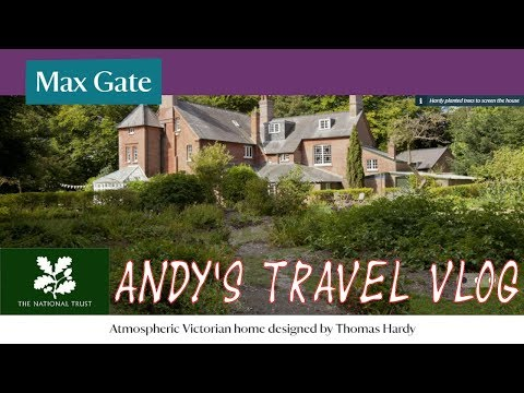 Andy's National Trust Travel Blogs: Max Gate, home of Thomas Hardy