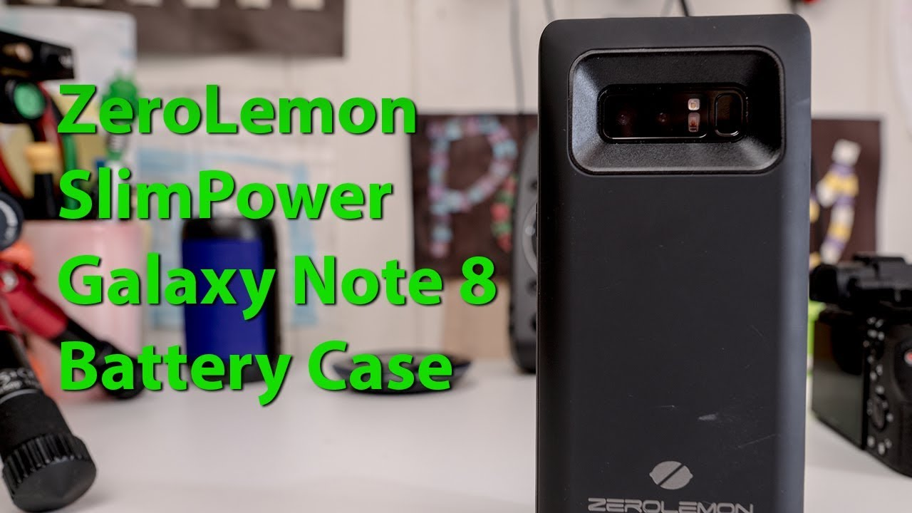 timeless design d9d9b 0ad06 ZeroLemon SlimPower Galaxy Note 8 Battery Case Review!