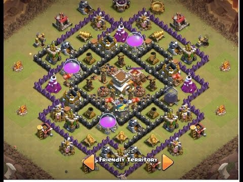Th8 War Base The End