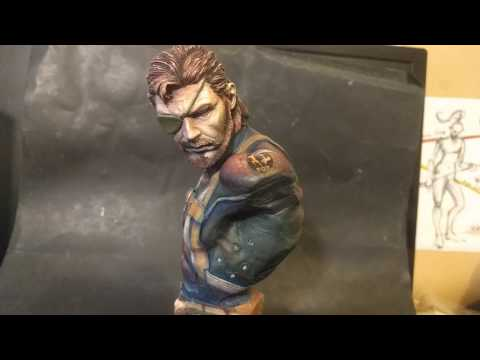 Big Boss bust from Metal Gear Solid