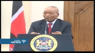 President Zuma comments on #FeesMustFall protests