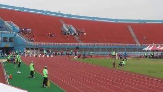 105 全國大專田徑公開賽 男乙100m決賽