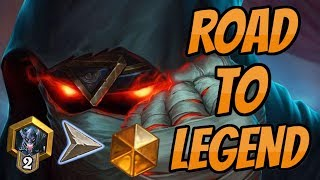 Road to Legend   How to win with Hunterstone?   Hearthstone