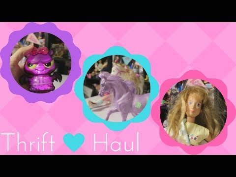 Toy Thrift Haul | Dolls and a few other things