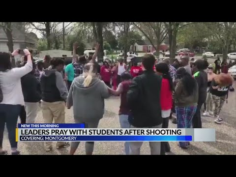Leaders pray with students after shooting – Alabama Alerts