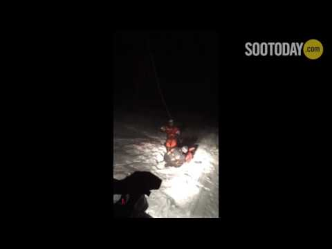 OPP say rescued snowmobiler was from Michigan