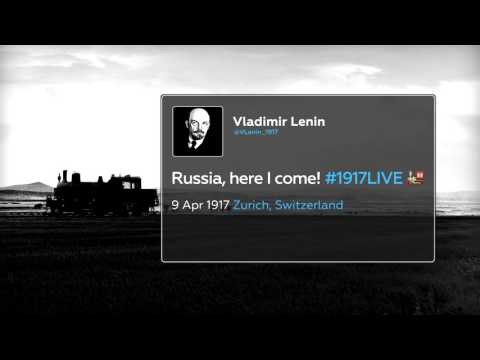 #LeninTracker: Follow Lenin's trip to revolutionary Russia with real-time radar (#1917LIVE PROMO)