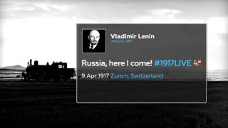 #LeninTracker  Follow Lenin's trip to revolutionary Russia with real time radar (#1917LIVE PROMO)