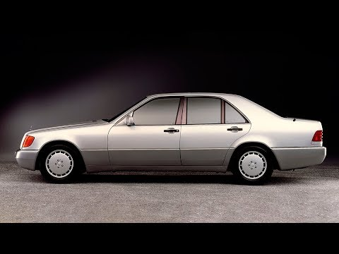 1991 Mercedes S-class W140 Official Promotion Video