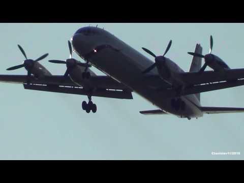 Ilyushin Il-18 ИЛ-18Д RF-75937 Полет