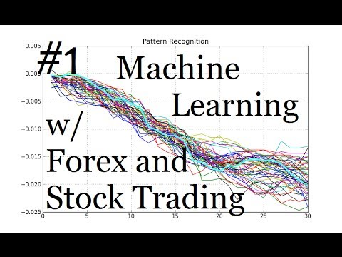 Machine Learning and Pattern Recognition for Algorithmic Forex and Stock Trading: Intro