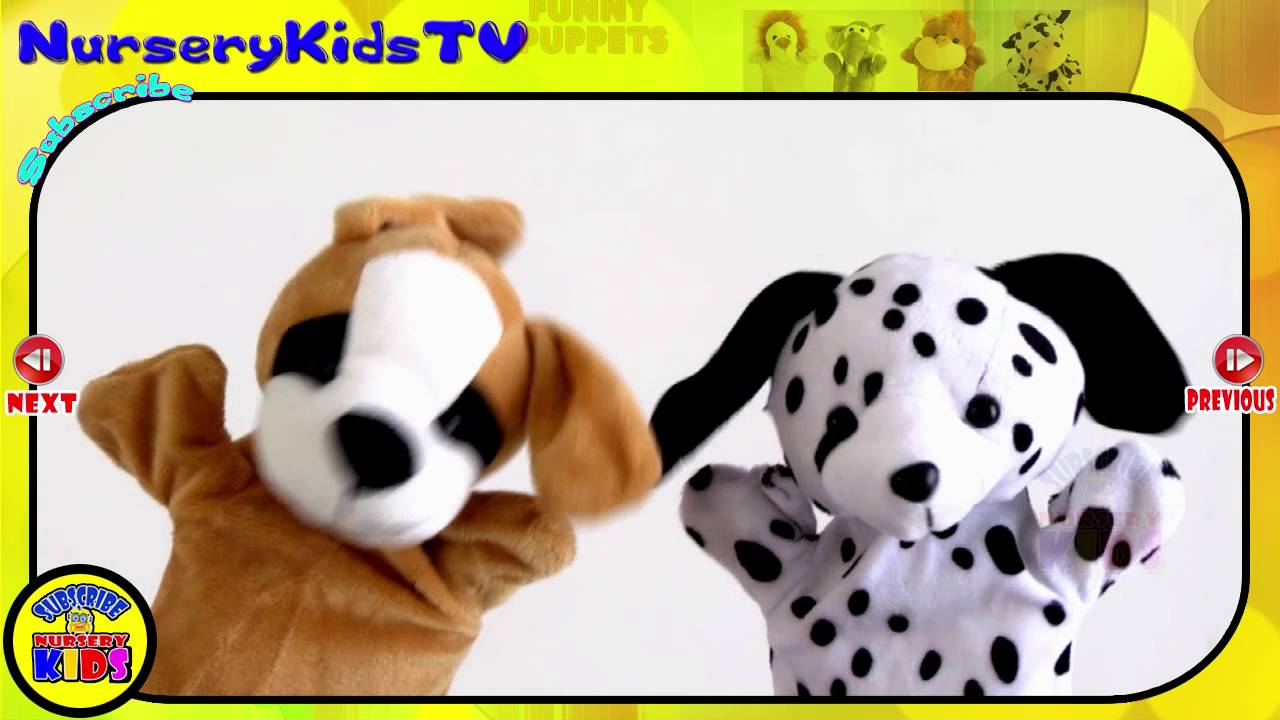 Humpty Dumpty Rhyme Cute Puppy Dogs Puppet Video Nursery Rhymes