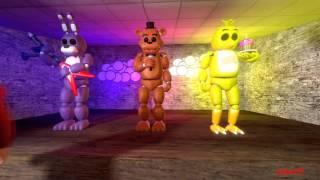 Five Nights At Freddy S SFM New Night Guard RUS By Zajcu37