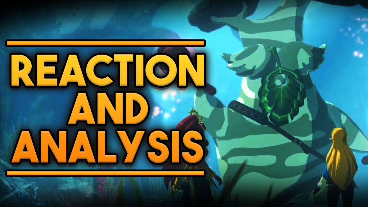 Hyrule Warriors Age Of Calamity Trailer 5 Analysis And Reaction Hestu And Flying Daruk Youtube