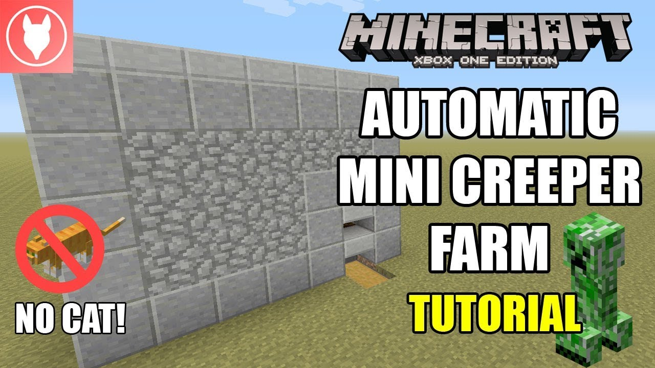 Minecraft Legacy Console - Automatic Mini Creeper Farm (Xbox/ PS4/ PS3/ Wii  U/ Switch)