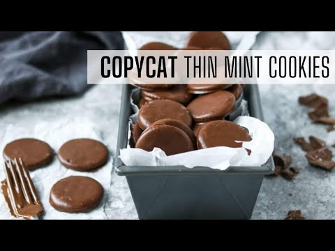 Girl Scout Copycat Thin Mint Cookies