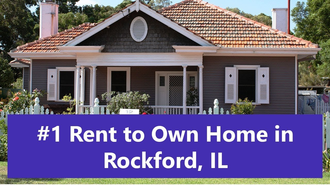 Rent To Own Homes In Rockford Il Youtube